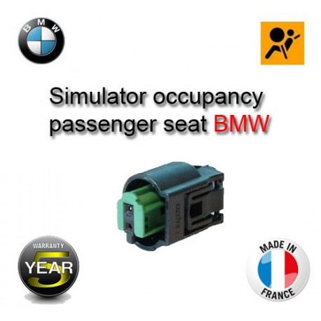 Simulator occupancy passenger seat BMW