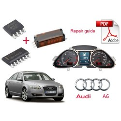 Audi A6 instruments cluster repair