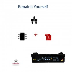 Citroen C6 instruments cluster repair kit